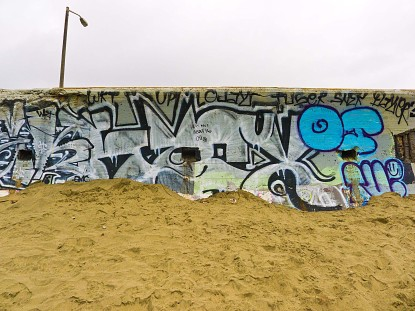 Graffiti on Ocean Beach