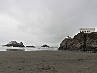 Seal Rock, the Camera Obscura, and Cliff House.