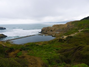 Another view of Sutro Baths