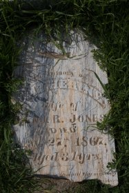 Catherine Jones, died 1867, age 34.
