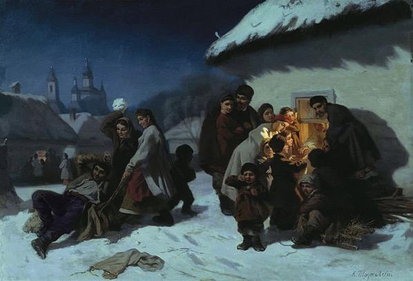 640px Trutovsky Konstantin Kolyadki v Malorossii