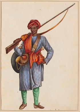 Mughal Infantryman