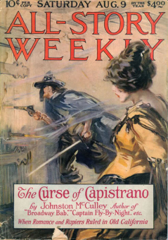 Zorro, All-Story Weekly