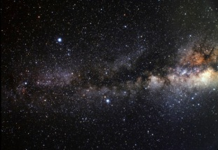 Wide field view of the Summer Triangle
