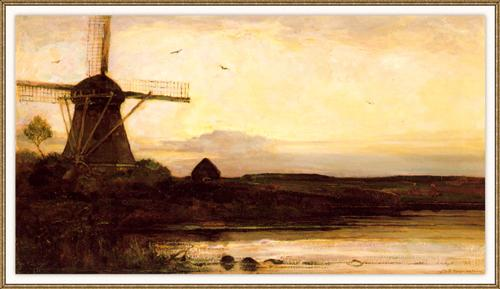 Mill in the evening 1905