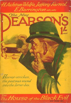 Cover of Pearson's Magazine, May 1929