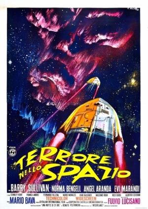 Planet of the Vampires 1965 Terrore Nello Spazio MSS poster 6