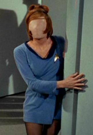 USS Enterprise sciences crew woman 3
