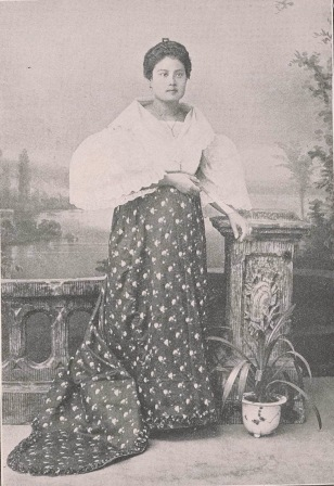 Filipino Business Woman, from Colored American Magazine, October 1900