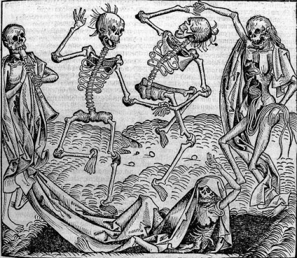 Dancing skeletons, Dance of Death