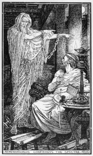 Athenodorus The Greek Stoic Philosopher Athenodorus Rents a Haunted House